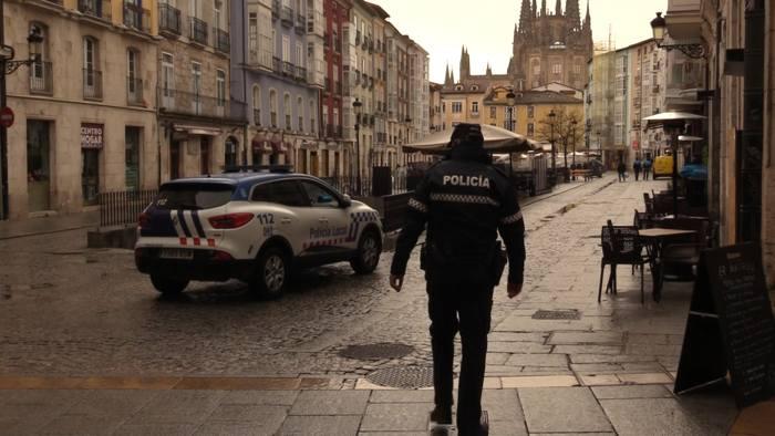 Policia Controles Entrada Llanas