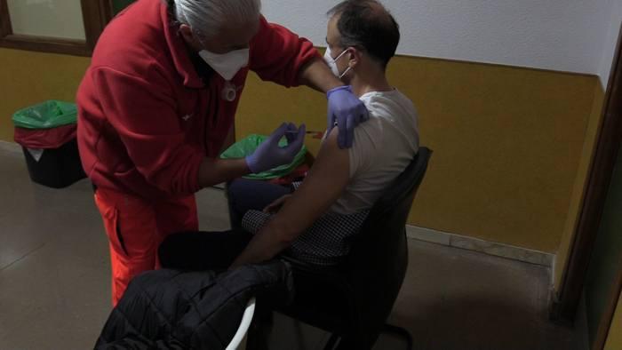 Vacunacion Covid Coronavirus Estudiantes Enfermeria UBU Bomberos Vacuna Astrazeneca Divino Valles (Marzo 2021)
