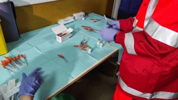 Vacunacion Covid Coronavirus Vacuna Astrazeneca Divino Valles (Marzo 2021)