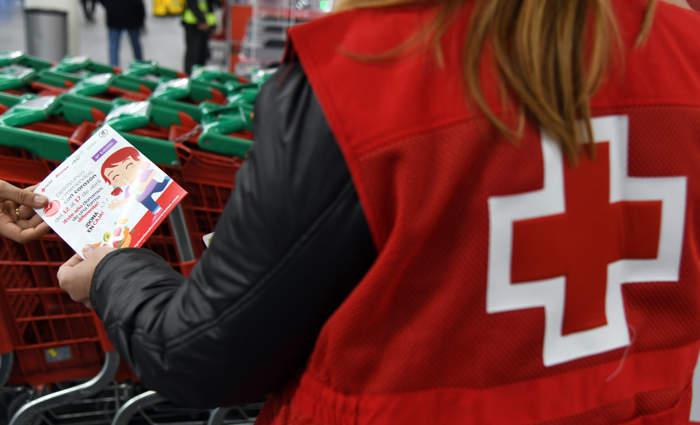 Cruz Roja Desayunos Campaña