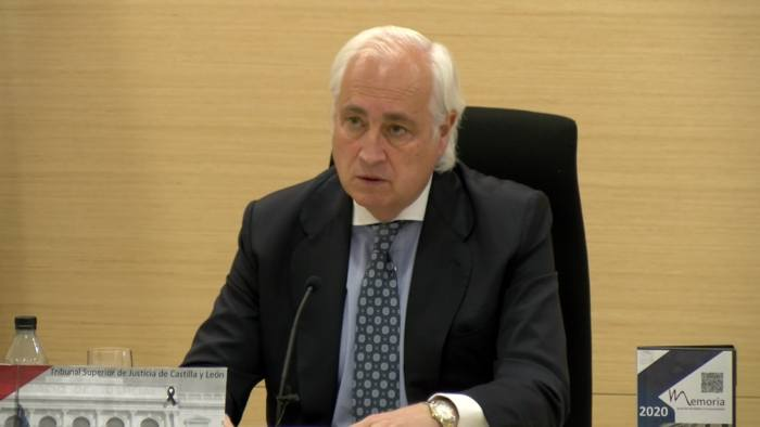 Jose Luis Concepcion Presidente TSJCyL (Mayo 2021)