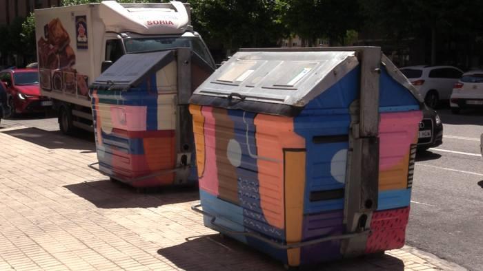 Arte Urbano Contenedores (Junio 2021)