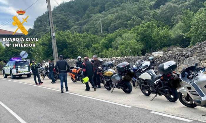 Control Motocicletas en la N-232