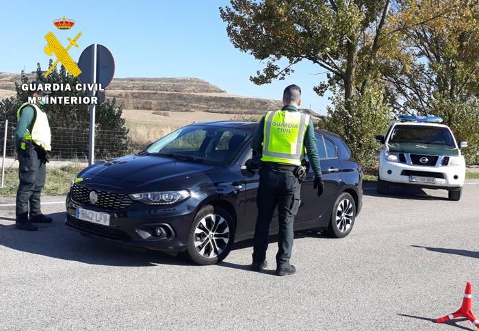 Control Trafico Guardia Civil (Julio 2021)