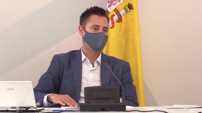Daniel de la Rosa Pleno Ayuntamiento Forum (Agosto 2021)