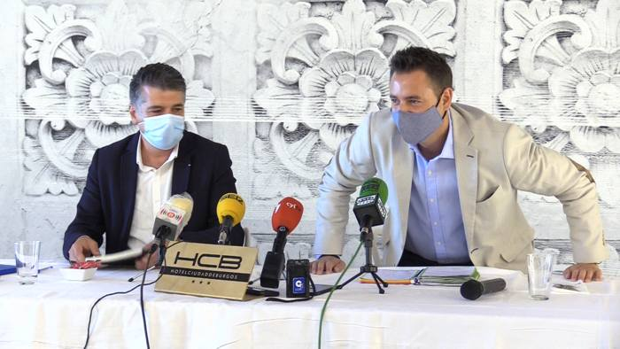 Reunion Equipo Gobierno Inicio Curso Politico Daniel de la Rosa Vicente Marañon Hotel Ciudad de Burgos (Agosto 2021)