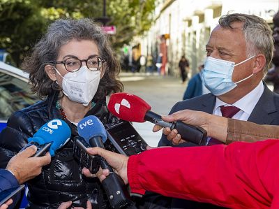 Maite Pagazaurtundua, eurodiputada de Cs