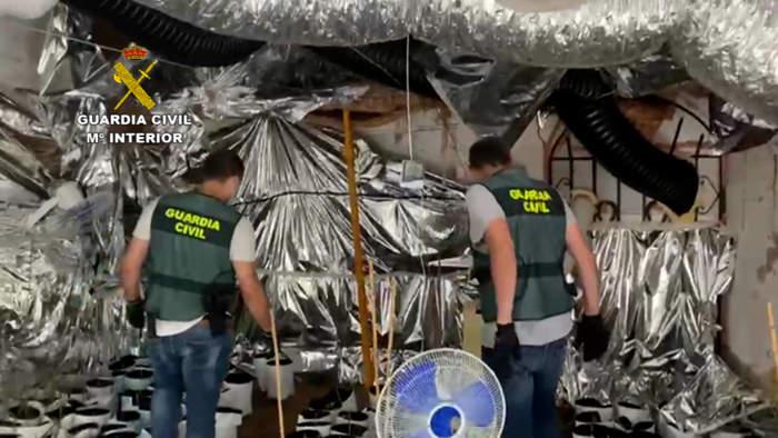 Guardia Civil Operación Droga