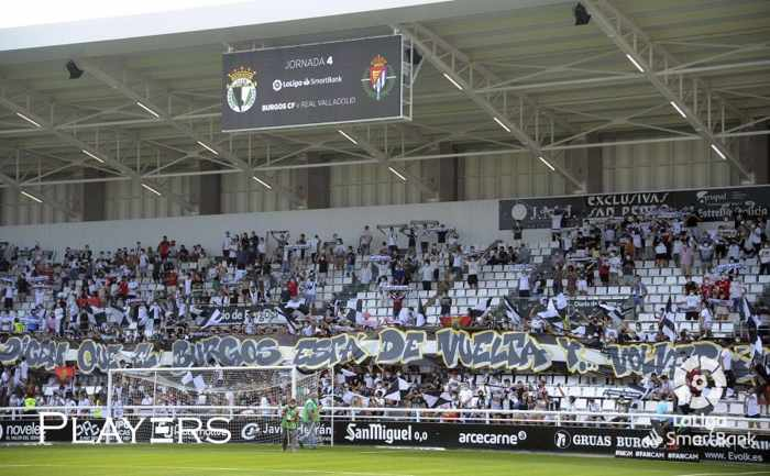 Fondo sur de El Plantío. Foto: @Burgos_CF