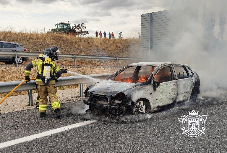 incendio cocheA-1 11 09 2021