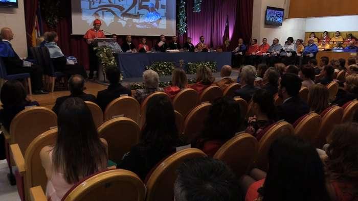 Acto Inicio Curso Universidad Burgos UBU Consejera Educacion Rocio Lucas Navas (Septiembre 2019)