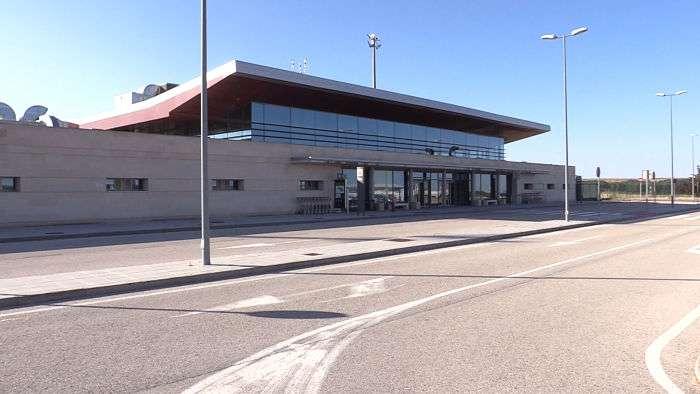 Aeropuerto Burgos (Agosto 2018)