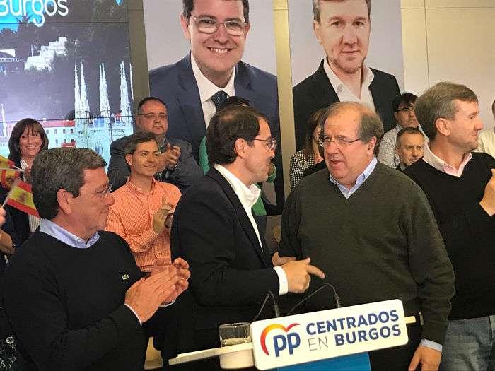 Alfonso Fernández Mañueco y Juan Vicente Herrera_mitin PP_opt