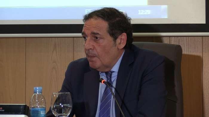 Antonio Maria Saez Aguado Consejero Sanidad (Junio 2019)