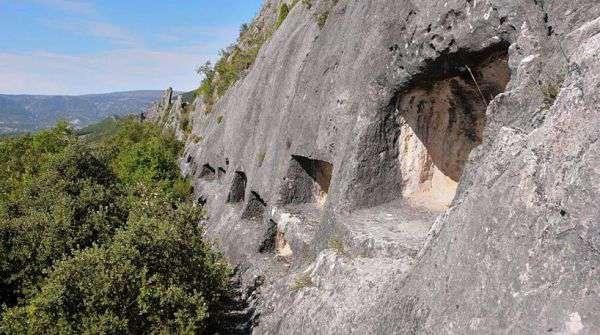 Las Cabañas de los Moros en Valdivielso
