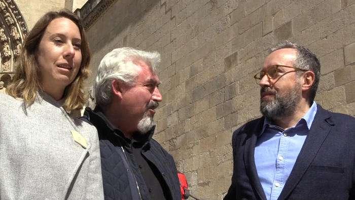 Campaña Ciudadanos Catedral de Burgos Aurora Nacarino Brabo Juan Carlos Girauta (Abril 2019)