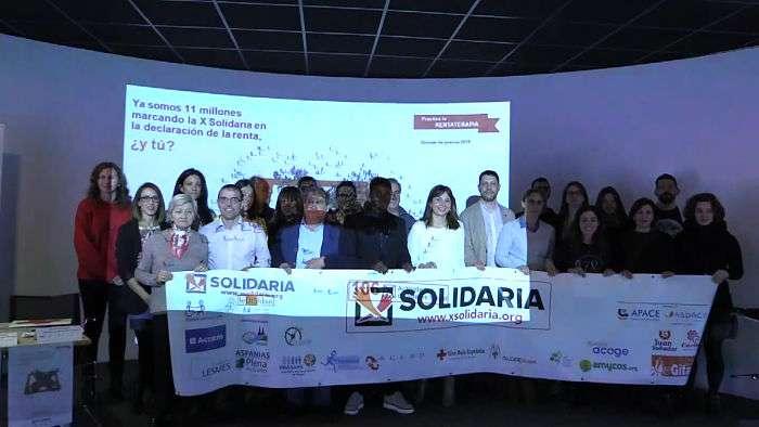 Campaña X Solidaria (Abril 2019)