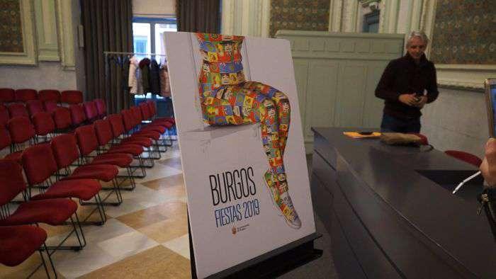 Cartel Sampedros 2019 Fiestas Burgos (Abril 2019)