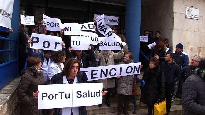 Centro Salud Loa Cubos, concentración médicos_opt