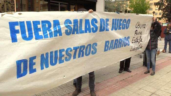 Concentracion Contra Casinos Casas Apuestas Calle Vitoria (Mayo 2019)