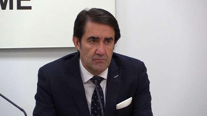 Consejero Fomento Juan Carlos Suarez-Quiñones (Febrero 2019)