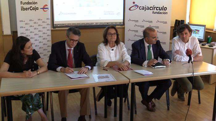 Convenio Fundacion Caja Circulo Ibercaja Autismo Burgos (Septiembre 2019)