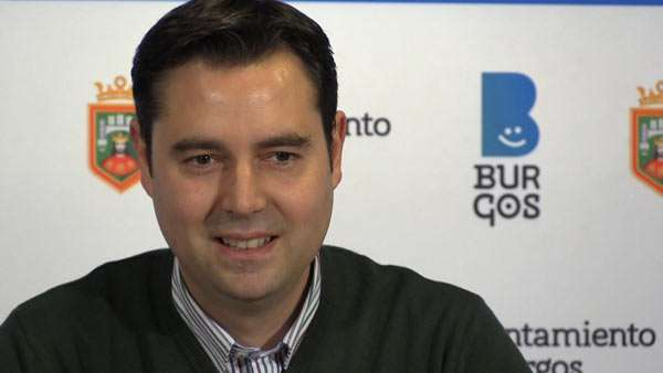 Daniel de la Rosa Concejal PSOE Burgos