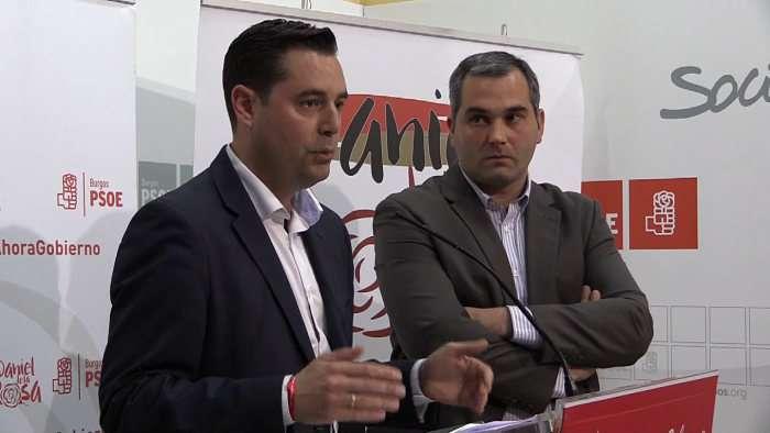 Daniel de la Rosa y Levi Moreno_PSOE