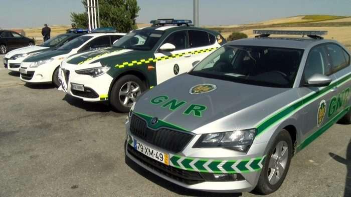 Dispositivo Trafico Guardia Civil Guardia Nacional Republicana Portugal (Julio 2019)