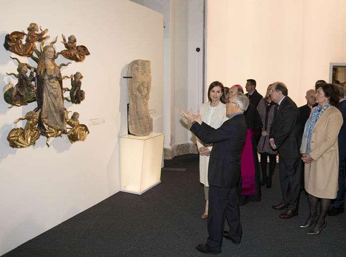 Edades del Hombre, Inauguración, Reina Letizia_opt