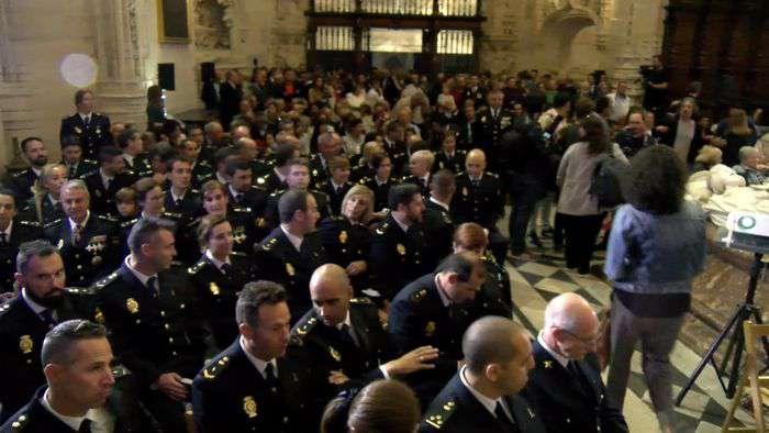 Festividad Santos Angeles Custodios Catedral Policia Nacional (Octubre 2019)