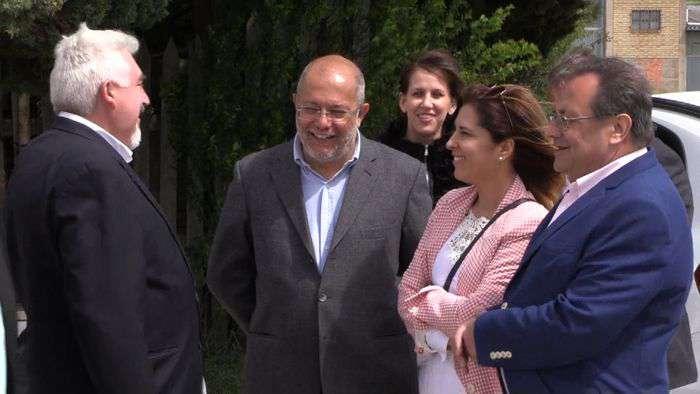 Francisco Igea Visita Parque Tecnologico (Mayo 2019)