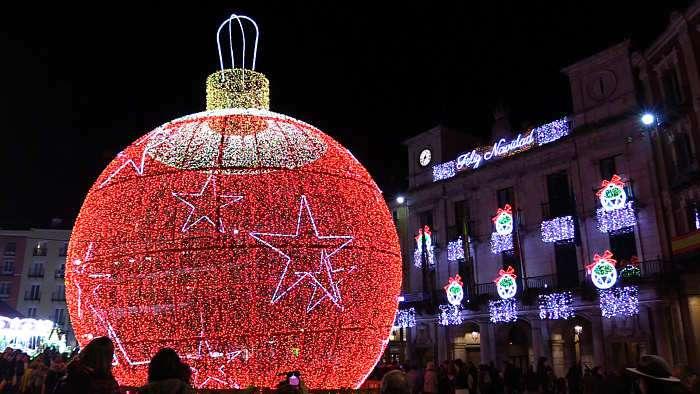 Iluminacion Navidad Plaza Mayor (Diciembre 2018)