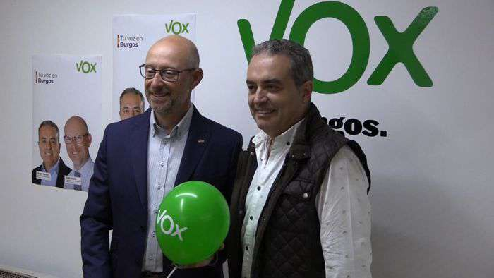 Inicio Campaña Electoral Iñaki Sicilia Angel Martin VOX (Mayo 2019)