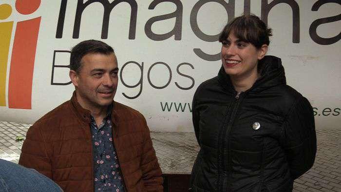 Inicio de Campaña Imagina Burgos Juan José Asensio Eugenia Sáez
