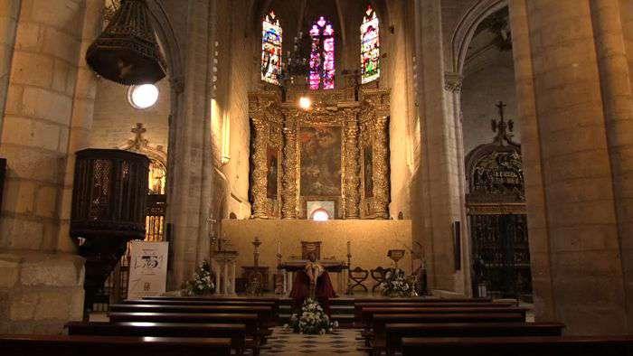 Interior Iglesia San Gil (Mayo 2019)