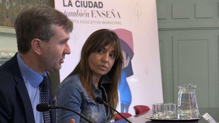 Javier Lacalle Carolina Blasco La Ciudad Tambien Enseña Programa Educativo (Mayo 2019)+ç