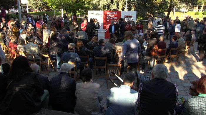 Mitin PSOE Elecciones Municipales Parque Felix (Mayo 2019)