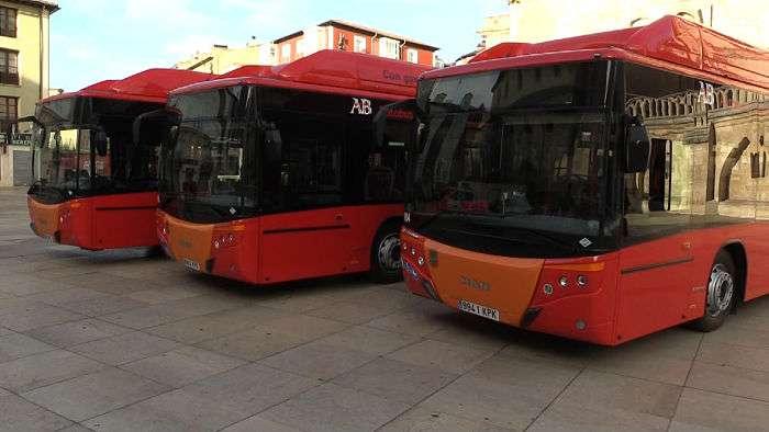 Nuevos Autobuses Urbanos Ayuntamiento (Octubre 2018)