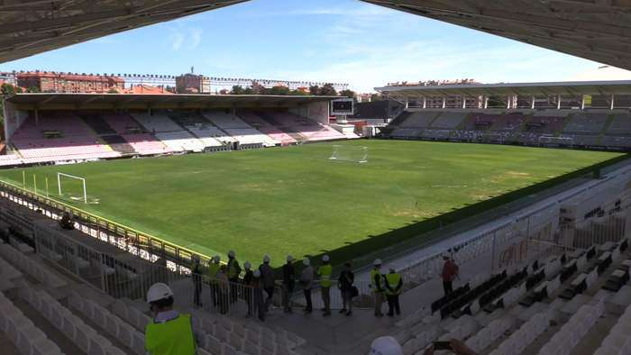Obras Estadio Municipal Plantio (Agosto 2019)