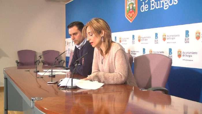 PSOE Burgos Blanca Carpintero y Daniel de la Rosa