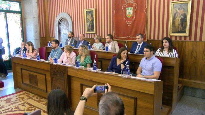 PSOE y Podemos en el Pleno Julio 2019