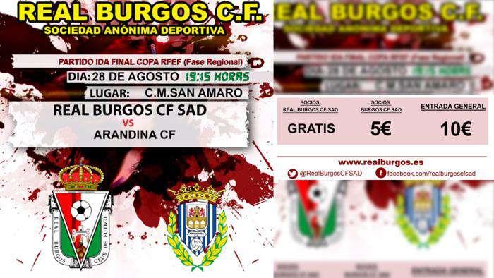Partido Copa Real Burgos Arandina