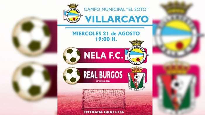 Partido Villarcayo Nela Real Burgos (Agosto 2019)