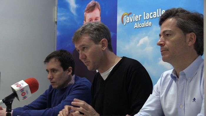 Presentacion Programa Deportes PP Elecciones Municipales Javier Lacalle Cesar Barriada (Mayo 2019)