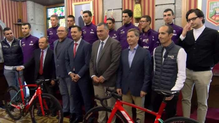 Recibimiento Burgos BH Ciclismo Ayuntamiento Burgos Daniel de la Rosa (Septiembre 2019)
