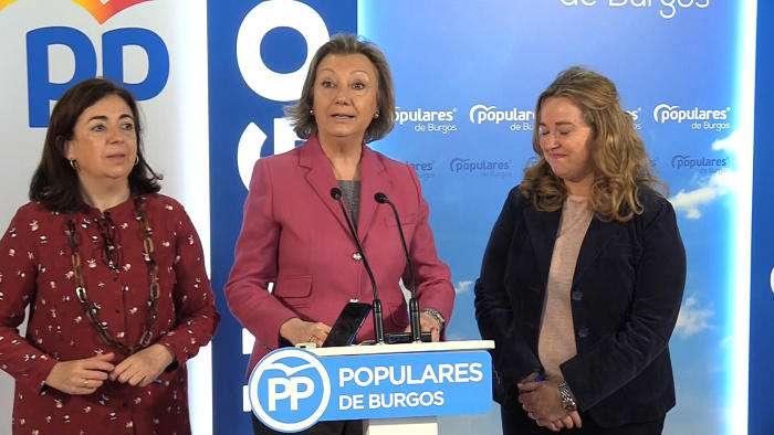 Rueda Prensa Sede PP Campaña Electoral Luisa Fernanda Rudi Ubeda (Abril 2019)
