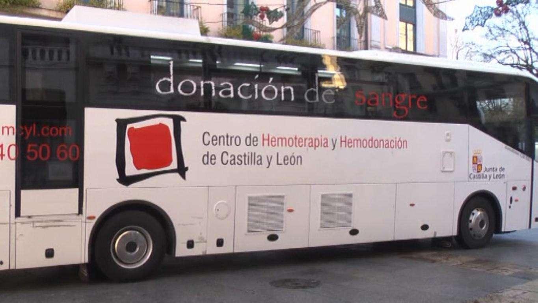 donantes de sangre,autobús