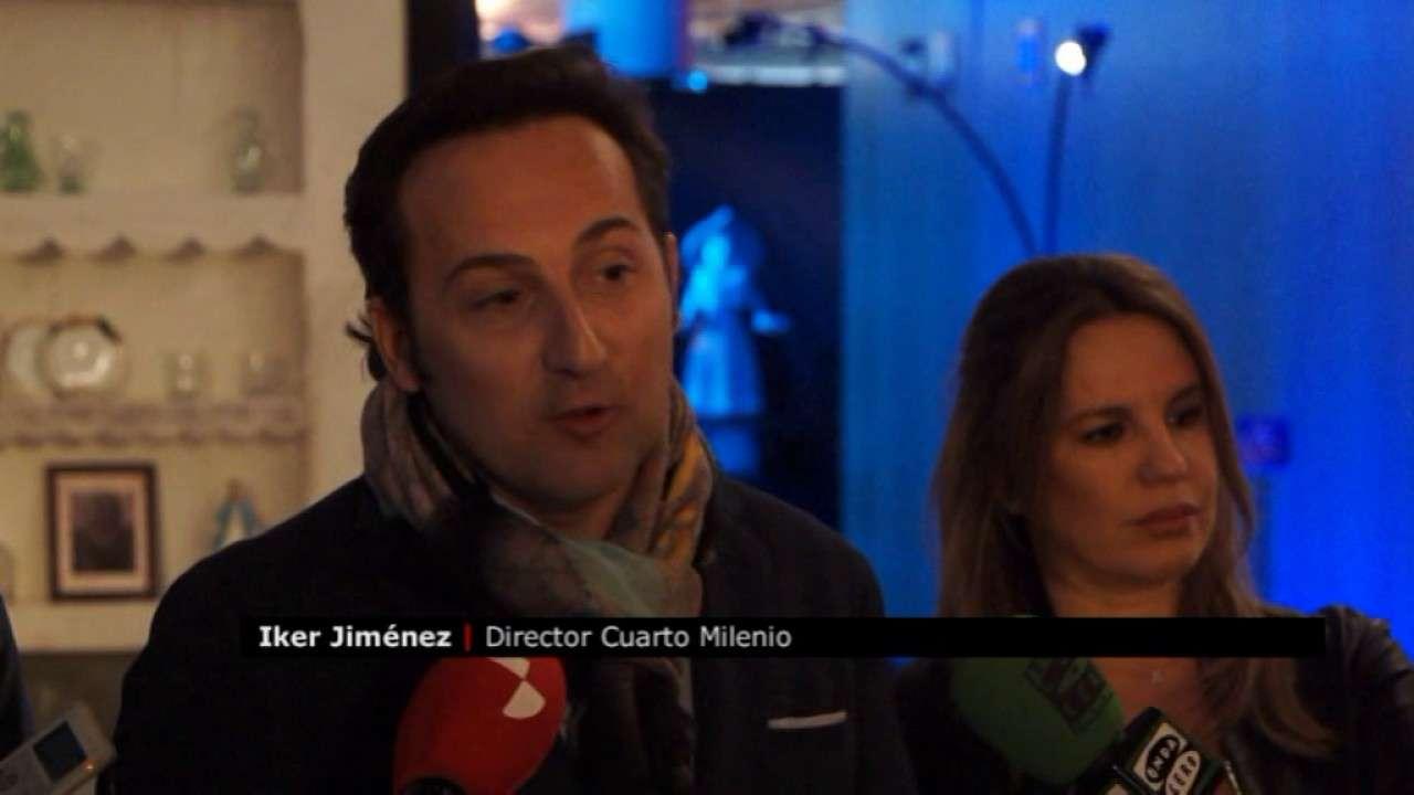 Exposición Cuarto Milenio Íker Jiménez Carmen Porter en Burgos ...