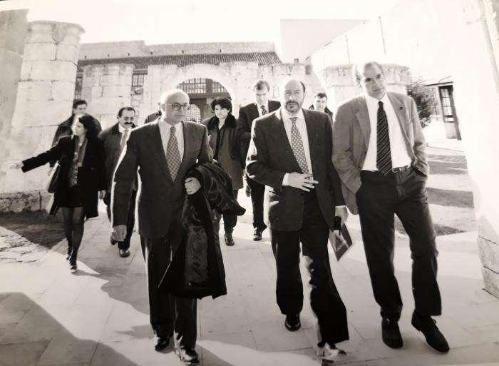 Imagen de Alfredo Pérez Rubalcaba en la UBU facilitada por la universidad